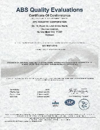 APC đạt chứng nhận ABS