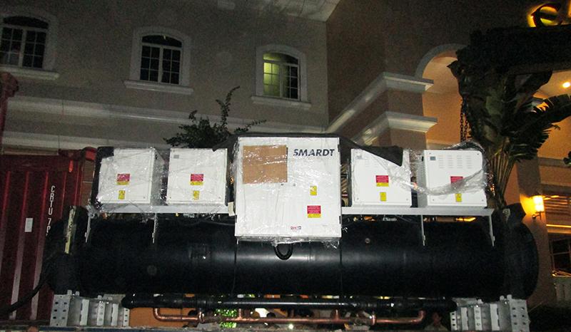 Dự án hệ thống chiller Hotel Equatorial