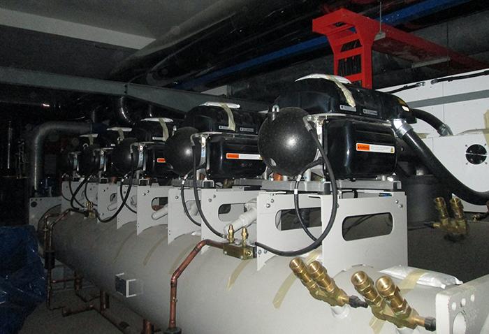 Hệ thống chiller công trình Dược Hậu Giang