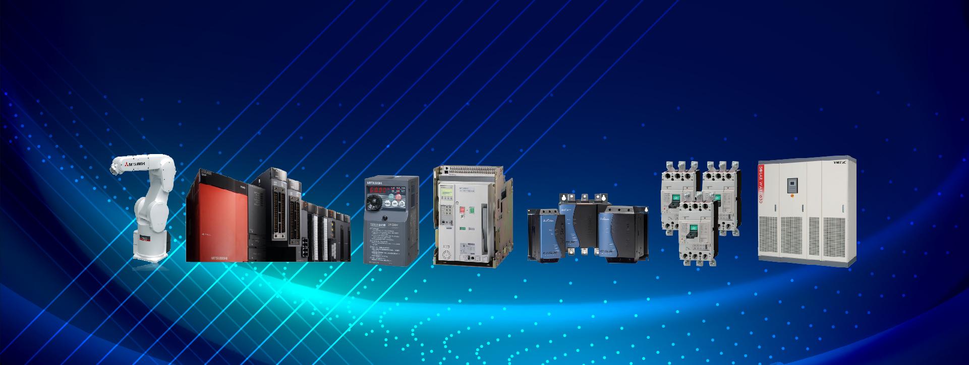 Phân phối thiết bị điện Mitsubishi